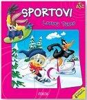 LOONEY TUNES - SPORTOVI (knjiga sa 6 slagalica)