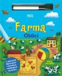 FARMA - OBLICI - Slikovnica s markerom i brisačem - jelena (ur.) bevandić