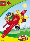 LEGO DUPLO - BOJANKA S NALJEPNICAMA 1