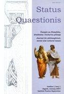 STATUS QUAESTIONIS - BROJ 1 / 2007 - ivan čulo