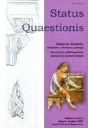STATUS QUAESTIONIS - BROJ 2 / 2007 - ivan čulo