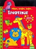 VJEŽBENICA S NALJEPNICAMA - ŽIVOTINJE - filip (prir.) kozina