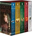 GAME OF THRONES 5-BOOK SET - george r.r. martin