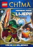 LEGO CHIMA - PRIPREMA, POZOR, LIJEPI! (vježbenica sa više od 230 naljepnica)