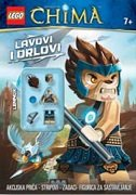 LEGO CHIMA - LAVOVI I ORLOVI (+ figurica)