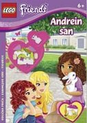LEGO FRIENDS - ANDREIN SAN (+ figurice)