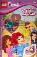 LEGO FRIENDS - POSLASTICA ZA GOLDIE (+ figurice)