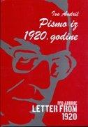 PISMO IZ 1920. GODINE - Letters from 1920. - ivo andrić