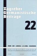 ZAGREBER GERMANISTISCHE BEITRAGE 22