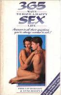 365 WAYS TO HAVE A HAPPY SEX LIFE (used book) - anne hooper, phillip hodson