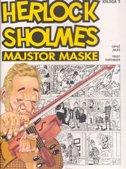 HERLOCH SHOLMES - MAJSTOR MASKE (knjiga 3) -  jules (crtež), zvonimir furtinger
