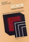 GOVOR - Časopis za fonetiku 1/2014 - vesna mildner (gl. ur.)