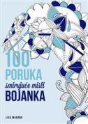 100 PORUKA - SMIRUJUĆE MISLI (BOJANKA) - lisa magano