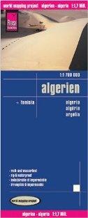 ALGERIEN, TUNISIA - LANDKARTEN