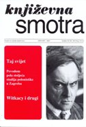 KNJIŽEVNA SMOTRA BR. 176(2) / 2015 - dalibor (ur.) blažina