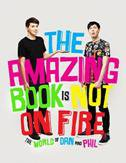 AMAZING BOOK IS NOT ON FIRE - phil lester, dan howell