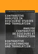 CONTRASTIVE ANALYSIS IN DISCOURSE STUDIES AND TRANSLATION - david limon, mojca schlamberger brezar, ada gruntar jermol