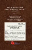 REPUBLIKA HRVATSKA I DOMOVINSKI RAT 1990.-1995. - DOKUMENTI (Knjiga 15)