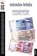 MARGINALIJE - O gradovima i ljudima - miroslav krleža