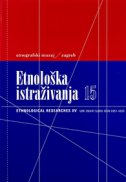 ETNOLOŠKA ISTRAŽIVANJA 15 (hrv. - eng.)