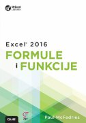 EXCEL 2016 - Formule i funkcije - paul mcfedries