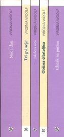 KOMPLET VIRGINIA WOOLF 1/5 - Noć i dan, Tri gvineje, Jakobova soba, Obična čitateljica, Izlazak na pučinu - virginia woolf
