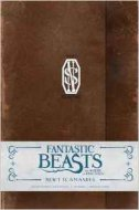 FANTASTIC BEASTS AND WHERE TO FIND THEM - Newt Scamander Hardcover Ruled Journal