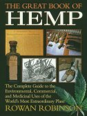 GREAT BOOK OF HEMP - rowan robinson