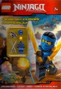 LEGO NINJAGO - NEBESKI GUSARI NAPADAJU! + figurica - đurđica (prir.) šokota