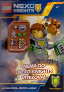 LEGO NEXO KNIGHTS - NEMA DO NEXO KNIGHTS VITEZOVA! + figurica - đurđica (prir.) šokota