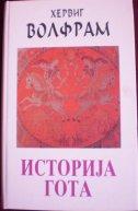ISTORIJA GOTA (ćirilica) - herwig wolfram