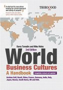 The World Business Cultures - A Handbook, 3/e - barry tomalin, mike nicks