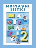 MATEMATIKA 2 - Nastavni listići - za drugi razred osnovne škole - josip markovac