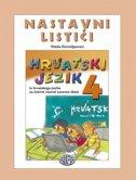 HRVATSKI JEZIK 4 - NASTAVNI LISTIĆI - vlatka domišljanović