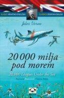 20000 MILJA POD MOREM (hrv. - eng.) T.U. - jules verne