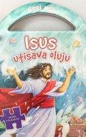 ISUS UTIŠAVA OLUJU (4 slagalice)