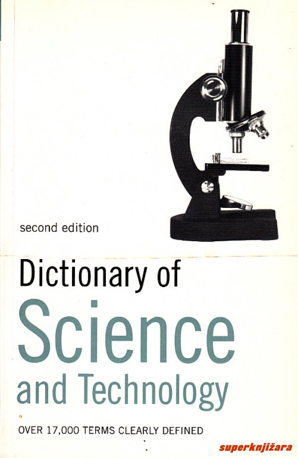 DICTIONARY OF SCIENCE AND TECHNOLOGY (engl.)-0