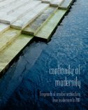 CONTINUITY OF MODERNITY - Fragments of croatian architecture from modernism to 2010-0