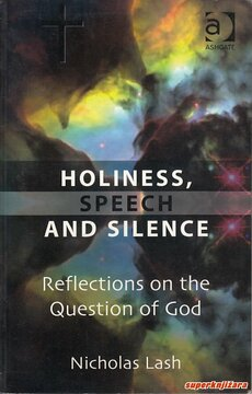 HOLINESS, SPEECH AND SILENCE - reflections on the question of god (eng.)-0